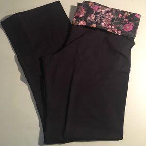 Victoria Secret perfect fold over yoga pant